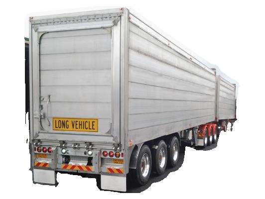 b train tipper trailer